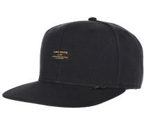 6P SB Hemp Snapback Cap - Schwarz