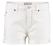 Boyfriend - Shorts für Damen - Weiß