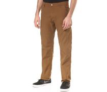 Ruck Single Knee - Stoffhose für Herren - Braun