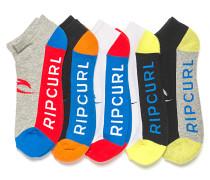 Rip Mix Ankle 5Pack - Socken für Herren - Mehrfarbig