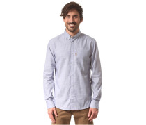 Irie City L/S - Hemd für Herren - Blau