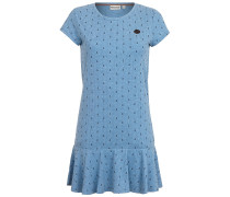 Auf Detlef Caktir - Kleid für Damen - Blau