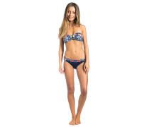 Carmelita Bandeau Set - Bikini Set für Damen - Blau