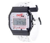 Flava XL Uhr - Weiß