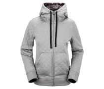 Tansy Quilted Fleece - Kapuzenjacke für Damen - Grau