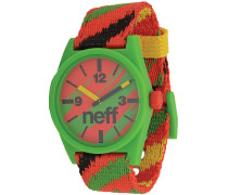 Daily Woven Watch Uhr - Mehrfarbig