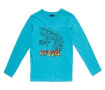 Trash Surfer - Langarmshirt für Jungs - Blau
