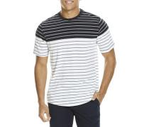 Jaquard Stripe - T-Shirt für Herren - Blau