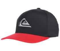 Mountain And Waves - Flexfit Cap für Herren - Schwarz