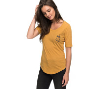 Boogie Board Lace Up - T-Shirt - Gelb