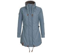Tanaka VI - Mantel für Damen - Blau