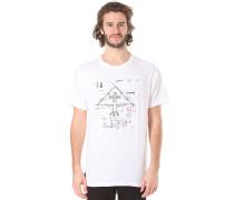 Measure Twice Cut Once - T-Shirt für Herren - Weiß