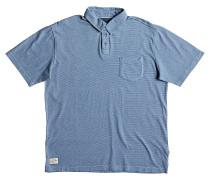 Strolo 7 - Polohemd für Herren - Blau