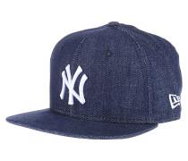 Denim Basic 9Fifty New York YankeesCap Blau