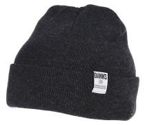 RBB Basic Melange Mütze - Grau