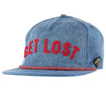 Get Lost - Snapback Cap für Herren - Blau