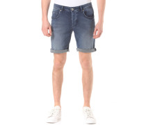 Shnpep Knit Denim - Shorts für Herren - Blau