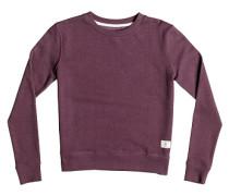 Rebel Star Crew - Sweatshirt für Damen - Rot