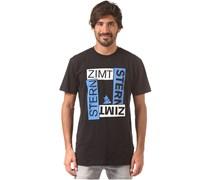 Zimtstern Boxy - T-Shirt für Herren - Schwarz