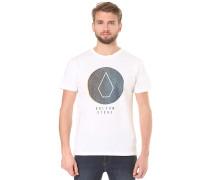 Cracked BSC - T-Shirt für Herren - Weiß