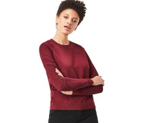 Suzaki Knit - Strickpullover für Damen - Rot