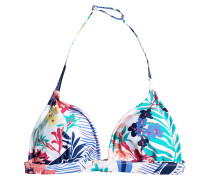 Fixed Triangle - Bikini Oberteil für Damen - Mehrfarbig