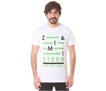 Zimtstern TSM Blanks - T-Shirt für Herren - Weiß