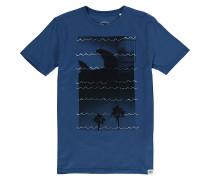 Fins Out - T-Shirt für Jungs - Blau