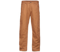 Relaxed Fit Duck - Jeans - Braun