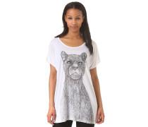 Sage Pantera Konig - T-Shirt für Damen - Weiß