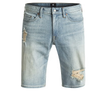 Washed Straight - Shorts für Herren - Blau