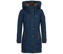 A Woman Will Rise Up V - Jacke - Blau