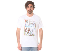 Brush Block - T-Shirt für Herren - Weiß