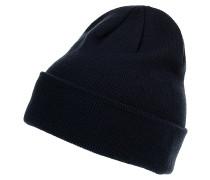 Seasonal Long Knit Mütze - Blau