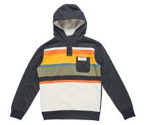 Multi Stripe - Kapuzenpullover für Jungs - Grau