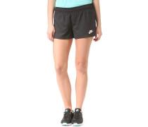 Bonded Woven - Shorts für Damen - Schwarz