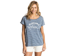 Salty Waves - T-Shirt - Blau