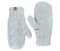 Cable Knit Mitt - Handschuhe - Weiß