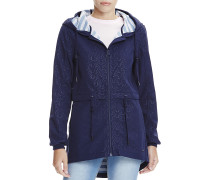 New Slim longline Bonded - Jacke für Damen - Blau