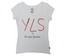 Yisneakers Crew - T-Shirt für Damen - Weiß