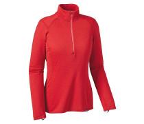 Cap TW Zip Neck - Funktionsunterwäsche für Damen - Rot