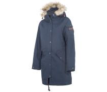 Hannah - Mantel für Damen - Blau