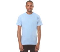 Script Embroidery - T-Shirt für Herren - Blau