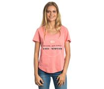 Active Logo - T-Shirt für Damen - Pink