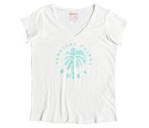 V Twist - T-Shirt für Damen - Weiß