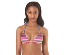 Triangle Meshin With - Bikini Oberteil für Damen - Mehrfarbig