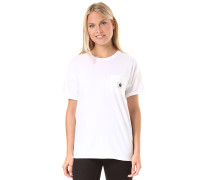 Carrie Pocket - T-Shirt für Damen - Weiß