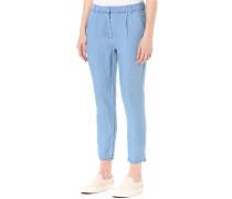 Vielectric 7/8 - Stoffhose für Damen - Blau