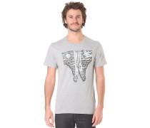 Sideways Sneakers - T-Shirt für Herren - Grau