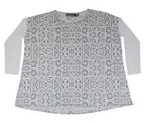 Inca 179 - Sweatshirt für Damen - Weiß